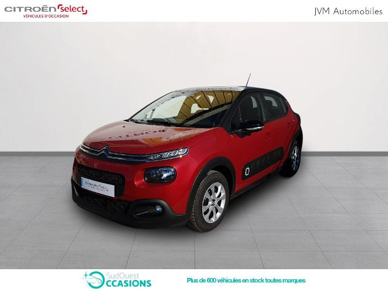 Photo 1 de l'offre de Citroën C3 PureTech 110ch Feel S&S EAT6 à 17 990 € chez SudOuest Occasions