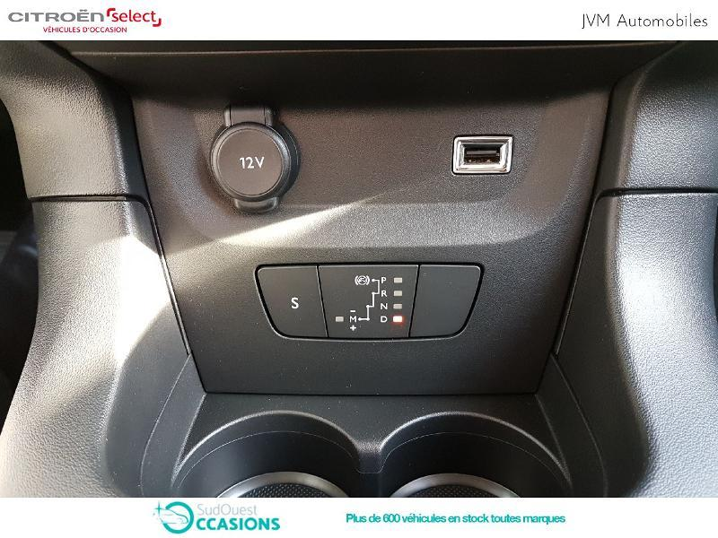 Photo 10 de l'offre de Citroën C3 PureTech 110ch Feel S&S EAT6 à 17 990 € chez SudOuest Occasions