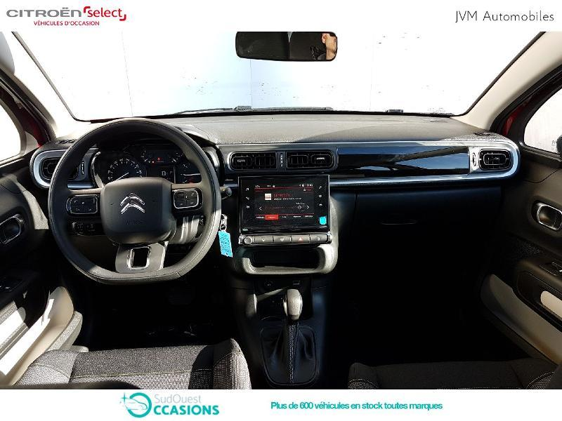 Photo 2 de l'offre de Citroën C3 PureTech 110ch Feel S&S EAT6 à 17 990 € chez SudOuest Occasions