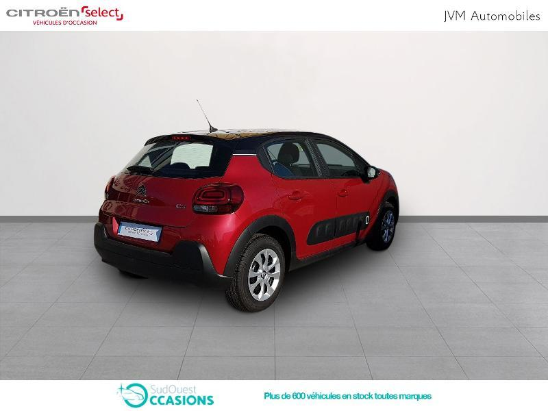 Photo 3 de l'offre de Citroën C3 PureTech 110ch Feel S&S EAT6 à 17 990 € chez SudOuest Occasions
