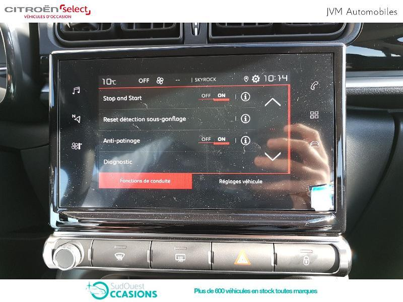 Photo 7 de l'offre de Citroën C3 PureTech 110ch Feel S&S EAT6 à 17 990 € chez SudOuest Occasions