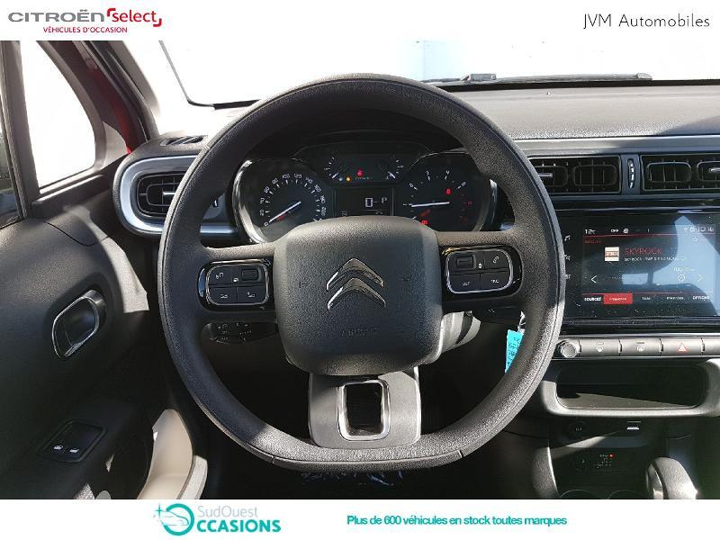 Photo 8 de l'offre de Citroën C3 PureTech 110ch Feel S&S EAT6 à 17 990 € chez SudOuest Occasions