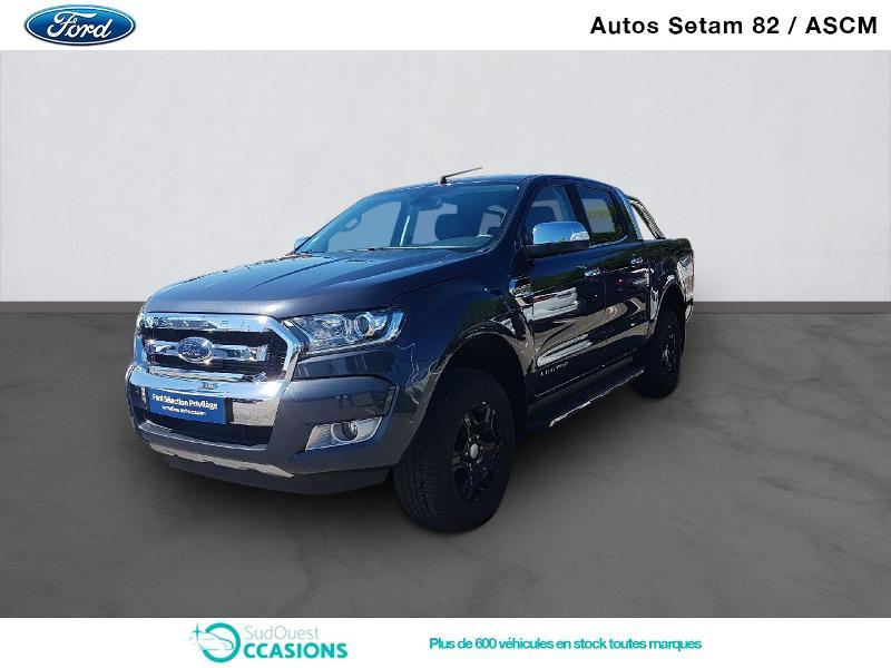 Photo 1 de l'offre de Ford Ranger 2.2 TDCi 160ch Double Cabine Limited à 34 980 € chez SudOuest Occasions