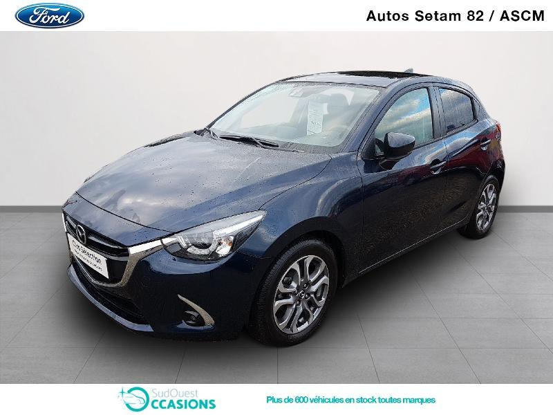Photo 1 de l'offre de Mazda Mazda 2 1.5 SKYACTIV-G 90 Exclusive Edition BVA à 18 890 € chez SudOuest Occasions