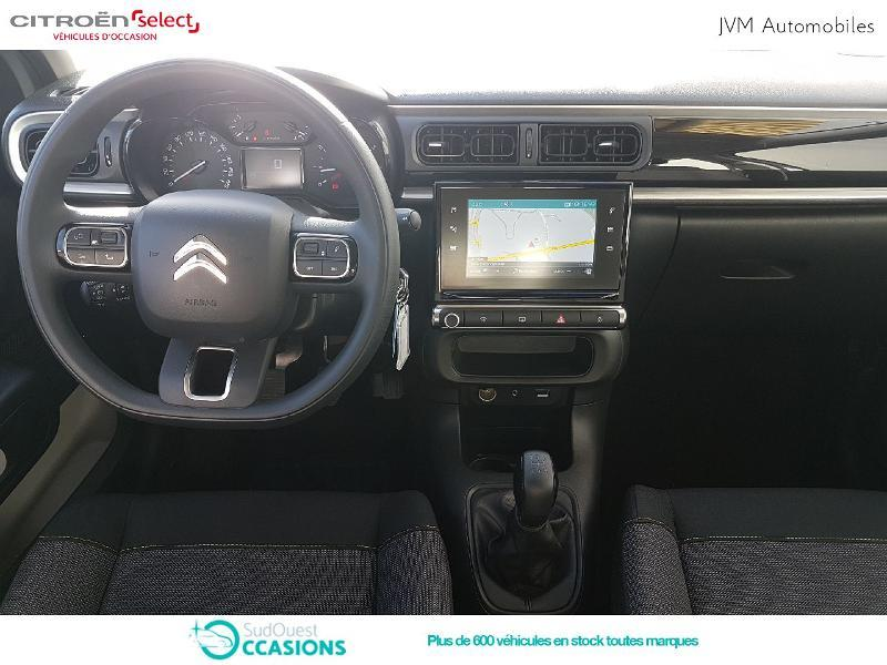 Photo 2 de l'offre de Citroën C3 PureTech 82ch Feel à 13 990 € chez SudOuest Occasions