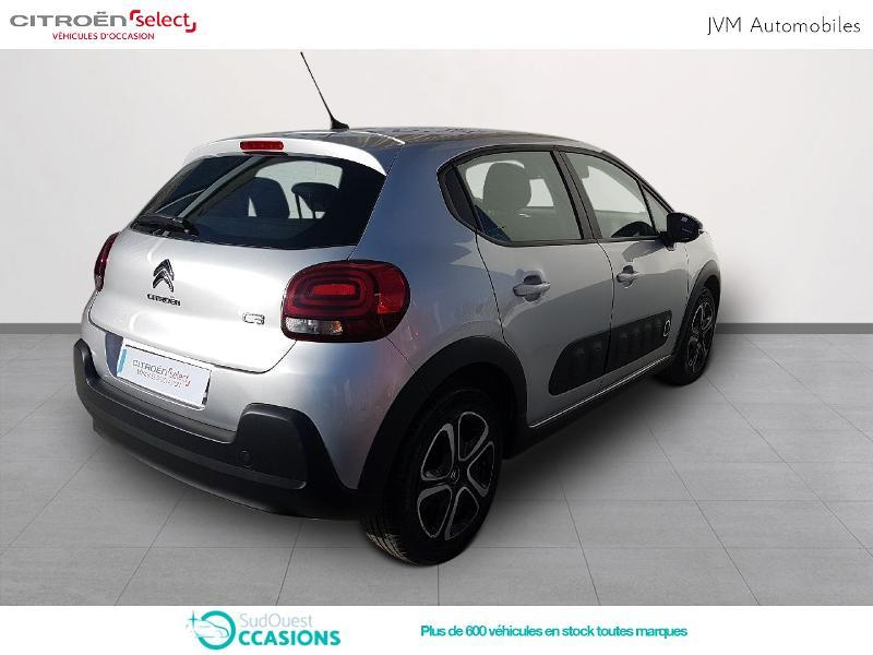 Photo 3 de l'offre de Citroën C3 PureTech 82ch Feel à 13 990 € chez SudOuest Occasions