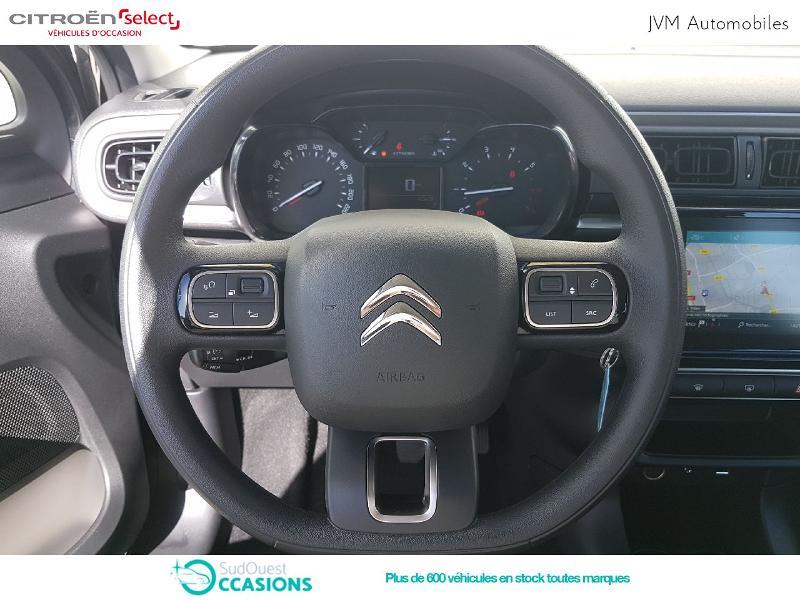 Photo 8 de l'offre de Citroën C3 PureTech 82ch Feel à 14 190 € chez SudOuest Occasions