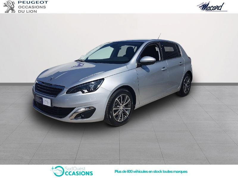 Photo 1 de l'offre de Peugeot 308 1.6 BlueHDi 100ch S&S Allure à 17 900 € chez SudOuest Occasions