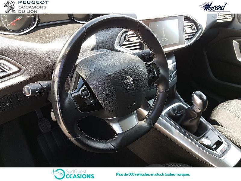 Photo 8 de l'offre de Peugeot 308 1.6 BlueHDi 100ch S&S Allure à 17 900 € chez SudOuest Occasions