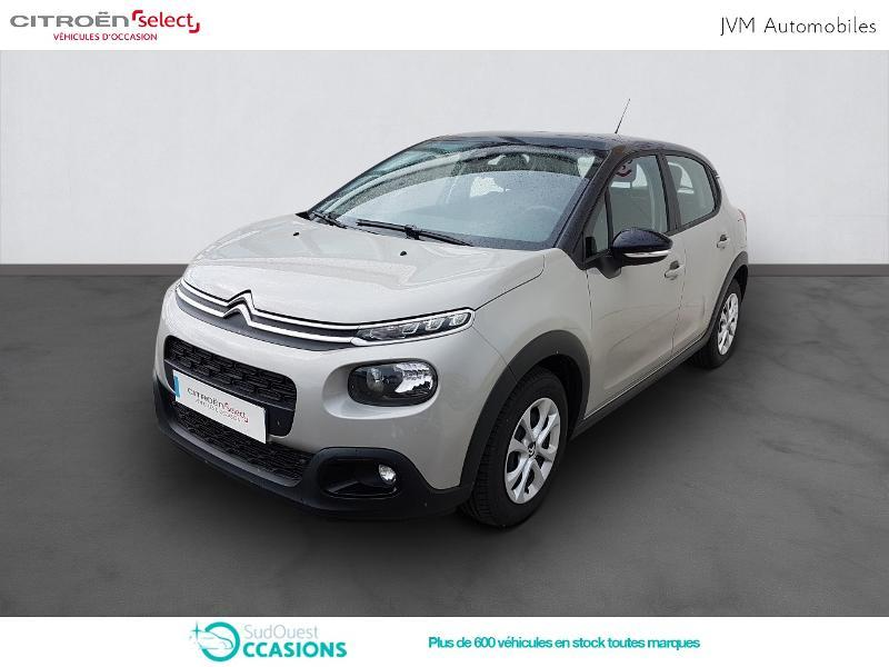 Photo 1 de l'offre de Citroën C3 PureTech 82ch Feel à 13 290 € chez SudOuest Occasions