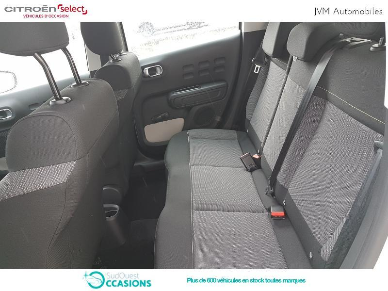 Photo 10 de l'offre de Citroën C3 PureTech 82ch Feel à 13 290 € chez SudOuest Occasions