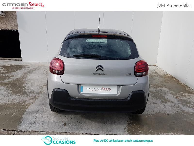 Photo 5 de l'offre de Citroën C3 PureTech 82ch Feel à 13 290 € chez SudOuest Occasions