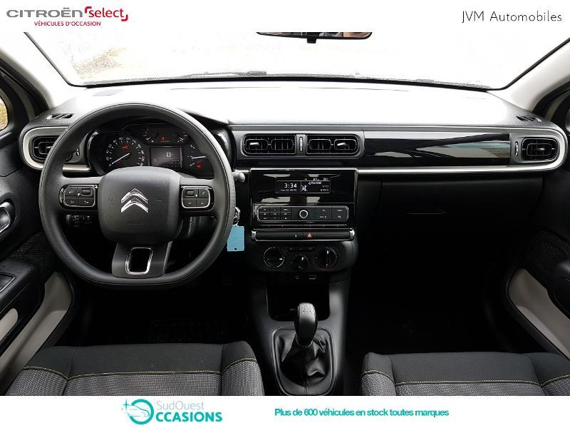 Photo 8 de l'offre de Citroën C3 PureTech 82ch Feel à 13 290 € chez SudOuest Occasions