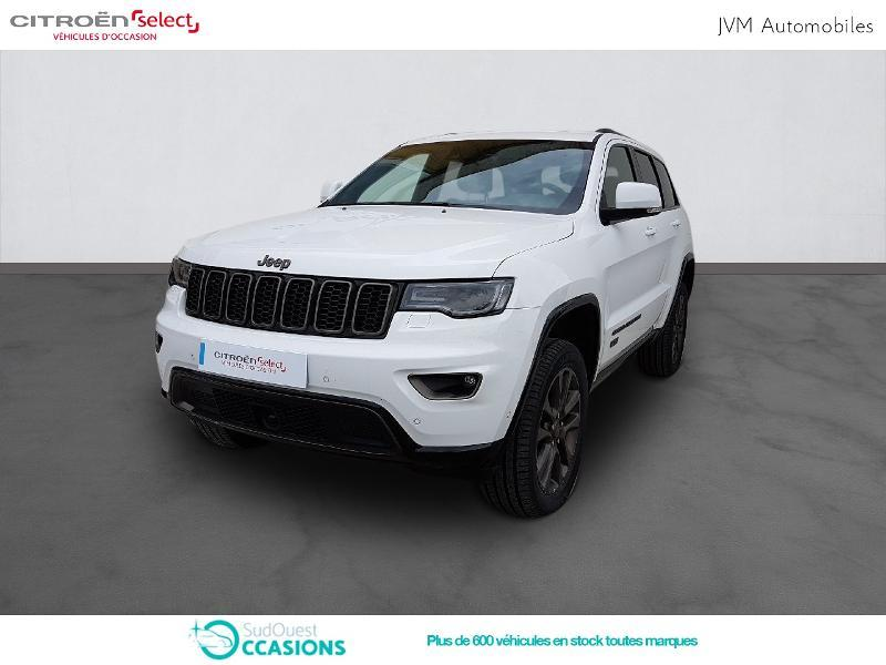 Photo 1 de l'offre de Jeep Grand Cherokee 3.0 V6 CRD 250ch 75th Anniversary BVA8 à 38 990 € chez SudOuest Occasions