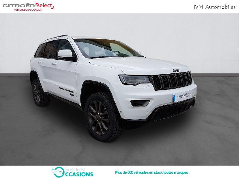 Photo 3 de l'offre de Jeep Grand Cherokee 3.0 V6 CRD 250ch 75th Anniversary BVA8 à 38 990 € chez SudOuest Occasions