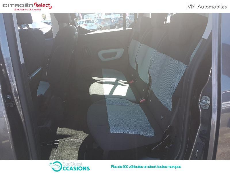 Photo 10 de l'offre de Citroën Berlingo M PureTech 110ch S&S Feel à 21 590 € chez SudOuest Occasions