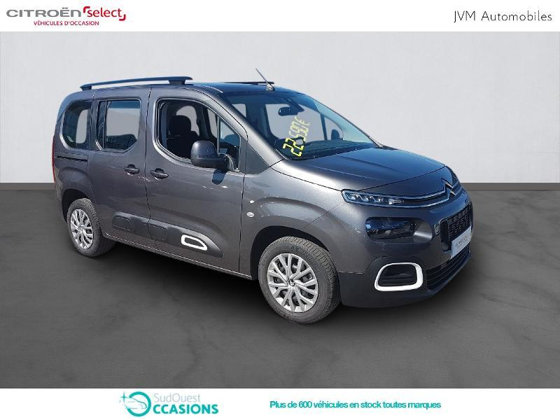 Photo 3 de l'offre de Citroën Berlingo M PureTech 110ch S&S Feel à 21 590 € chez SudOuest Occasions