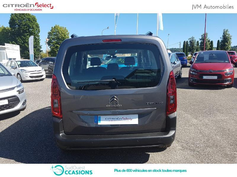 Photo 5 de l'offre de Citroën Berlingo M PureTech 110ch S&S Feel à 21 590 € chez SudOuest Occasions