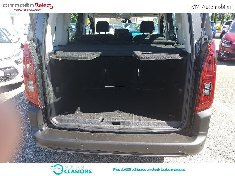 Photo 6 de l'offre de Citroën Berlingo M PureTech 110ch S&S Feel à 21 590 € chez SudOuest Occasions