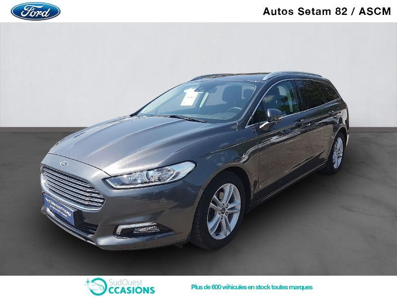 Photo 1 de l'offre de Ford Mondeo SW 2.0 TDCi 150ch Titanium PowerShift à 19 860 € chez SudOuest Occasions