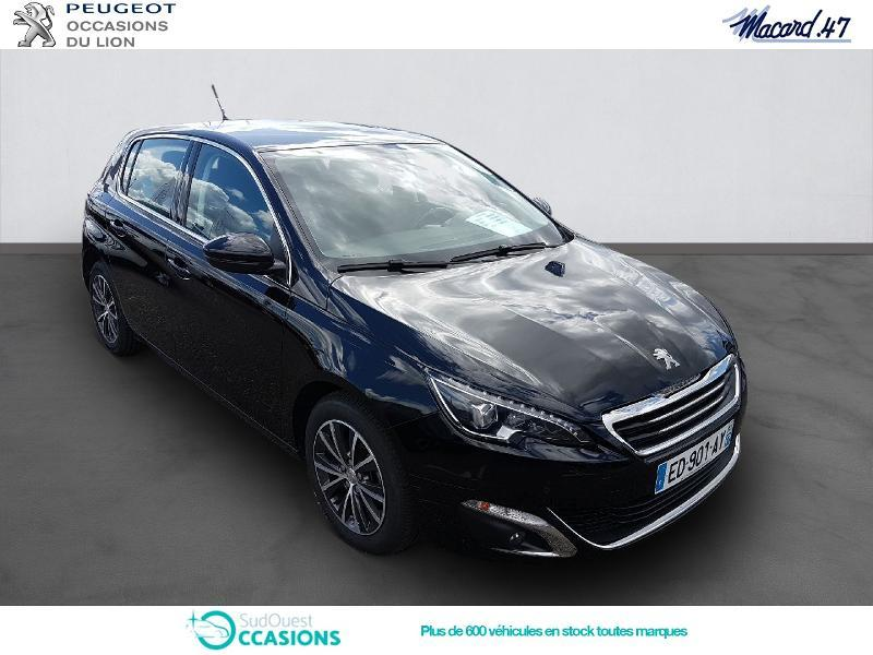 Photo 3 de l'offre de Peugeot 308 1.6 BlueHDi 120ch Allure S&S 5p à 17 990 € chez SudOuest Occasions