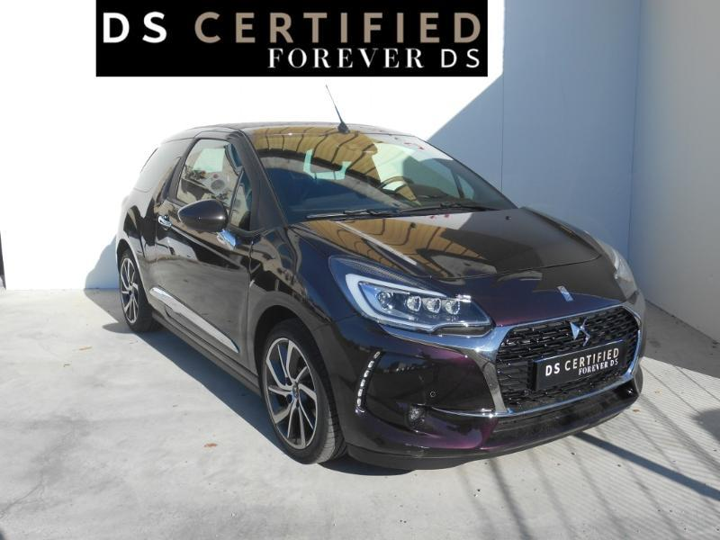 Photo 3 de l'offre de Ds DS 3 Cabrio PureTech 110ch Sport Chic S&S EAT6 à 18 290 € chez SudOuest Occasions