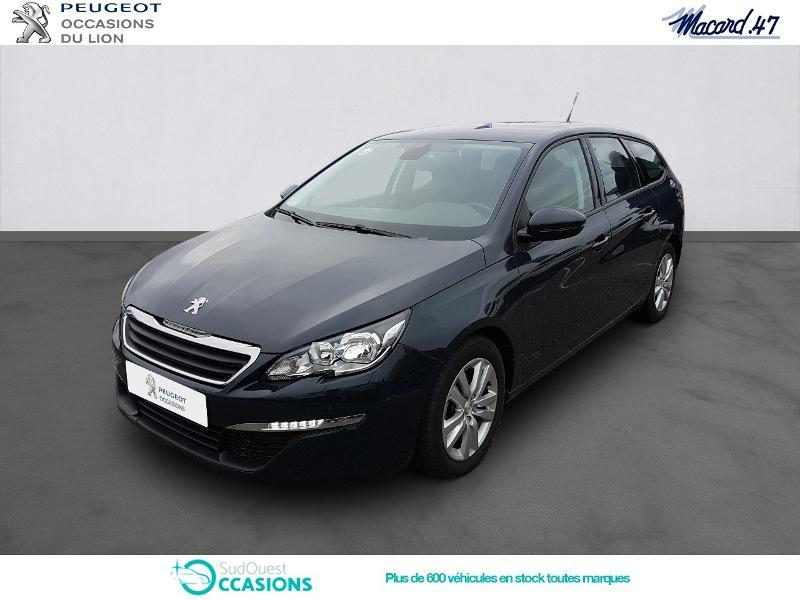 Photo 1 de l'offre de Peugeot 308 SW 1.6 BlueHDi 120ch Active S&S à 15 990 € chez SudOuest Occasions