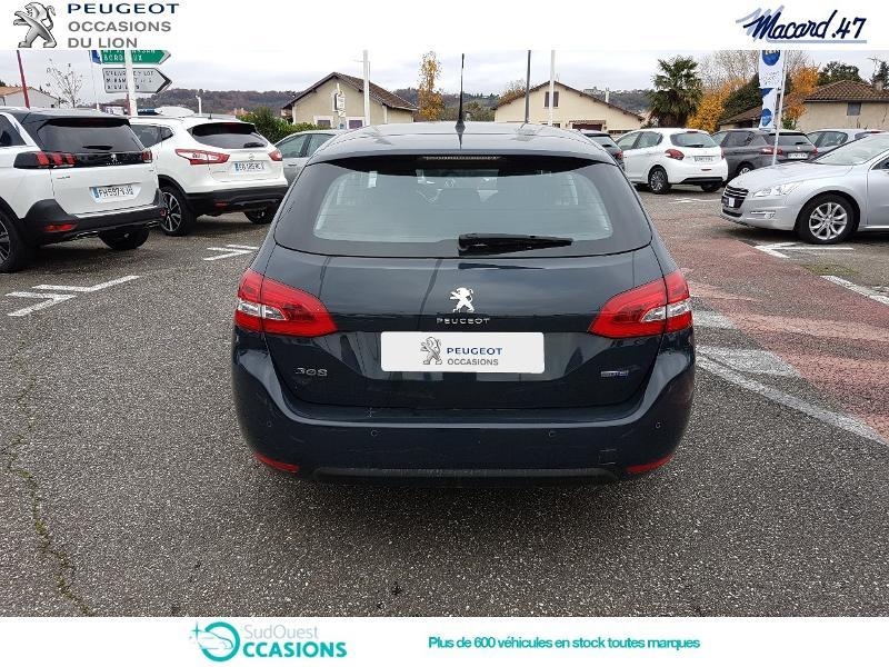 Photo 5 de l'offre de Peugeot 308 SW 1.6 BlueHDi 120ch Active S&S à 15 990 € chez SudOuest Occasions
