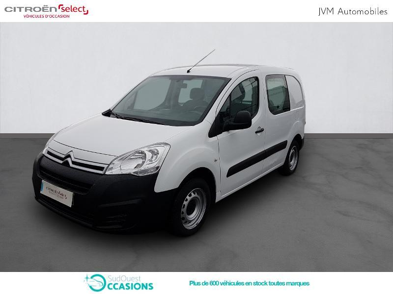 Photo 1 de l'offre de Citroën Berlingo 20 L1 1.6 HDi 90 Confort à 10 308 € chez SudOuest Occasions