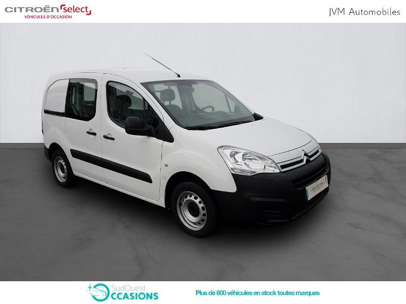 Photo 3 de l'offre de Citroën Berlingo 20 L1 1.6 HDi 90 Confort à 10 308 € chez SudOuest Occasions