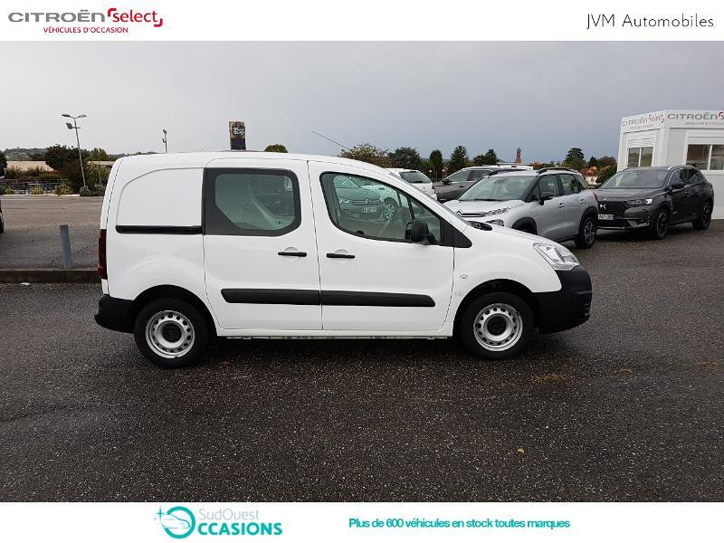 Photo 4 de l'offre de Citroën Berlingo 20 L1 1.6 HDi 90 Confort à 10 308 € chez SudOuest Occasions
