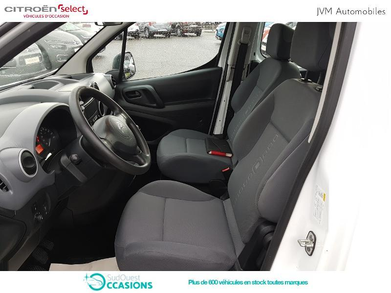 Photo 9 de l'offre de Citroën Berlingo 20 L1 1.6 HDi 90 Confort à 10 308 € chez SudOuest Occasions