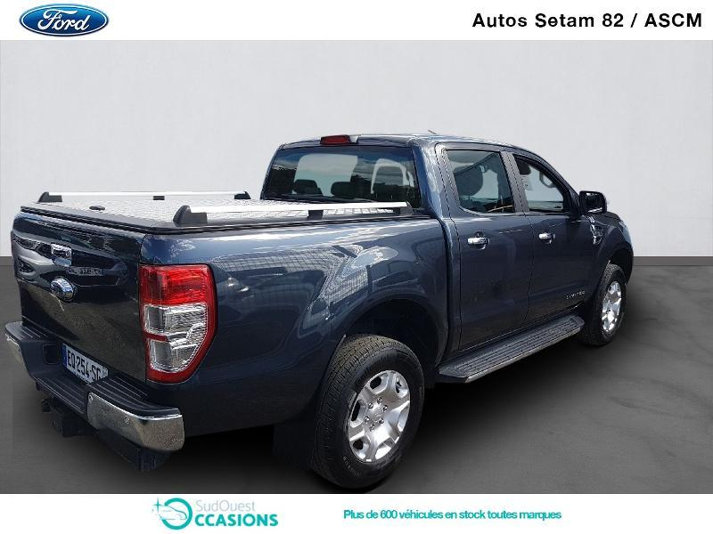 Photo 3 de l'offre de Ford Ranger 2.2 TDCi 160ch Double Cabine Limited à 29 800 € chez SudOuest Occasions