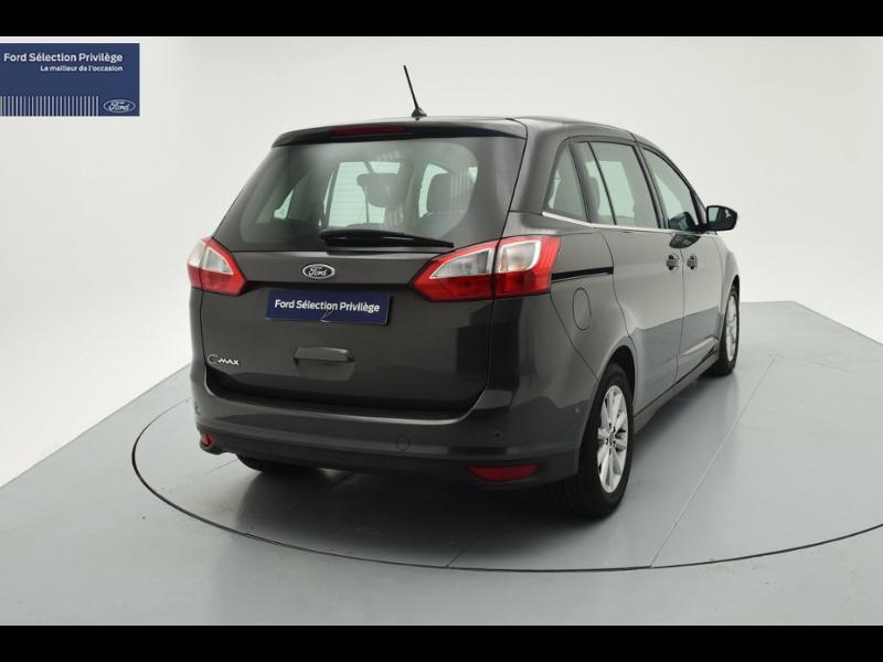 Photo 4 de l'offre de Ford Grand C-MAX 1.5 TDCi 120ch Stop&Start Titanium PowerShift Euro6.2 à 20 480 € chez SudOuest Occasions