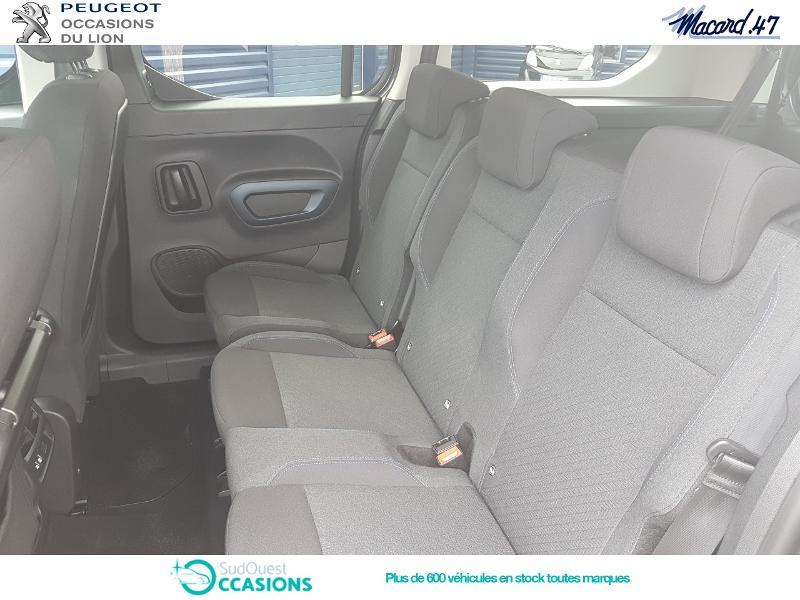 Photo 10 de l'offre de Peugeot Rifter BlueHDi 100ch Long Allure à 24 990 € chez SudOuest Occasions