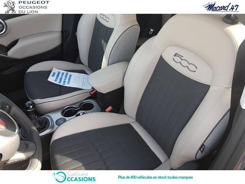 Photo 9 de l'offre de Fiat 500X 1.3 Multijet 16v 95ch Lounge à 14 990 € chez SudOuest Occasions