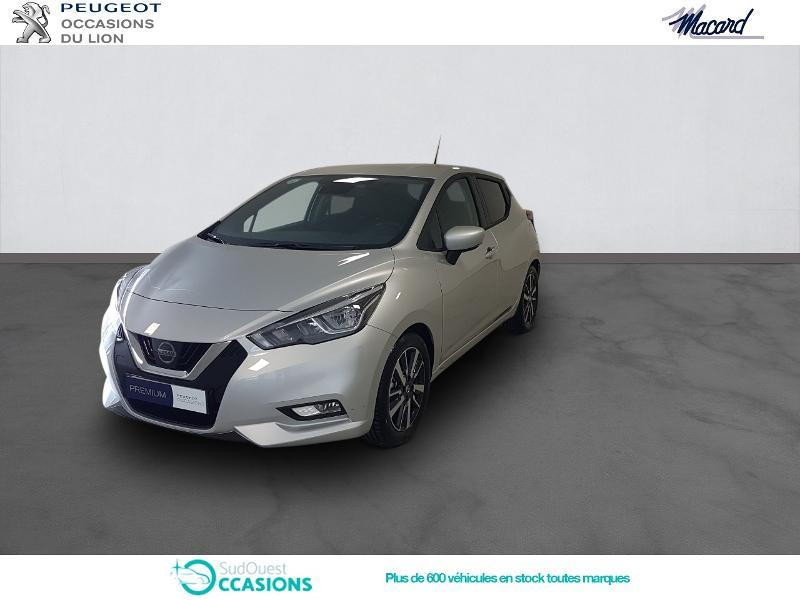 Photo 1 de l'offre de Nissan Micra 0.9 IG-T 90ch N-Connecta 2018 Euro6c à 14 890 € chez SudOuest Occasions