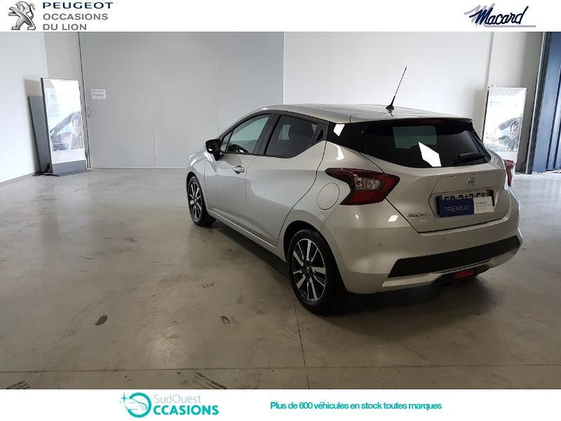 Photo 7 de l'offre de Nissan Micra 0.9 IG-T 90ch N-Connecta 2018 Euro6c à 14 890 € chez SudOuest Occasions
