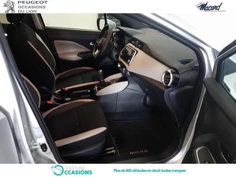 Photo 9 de l'offre de Nissan Micra 0.9 IG-T 90ch N-Connecta 2018 Euro6c à 14 890 € chez SudOuest Occasions