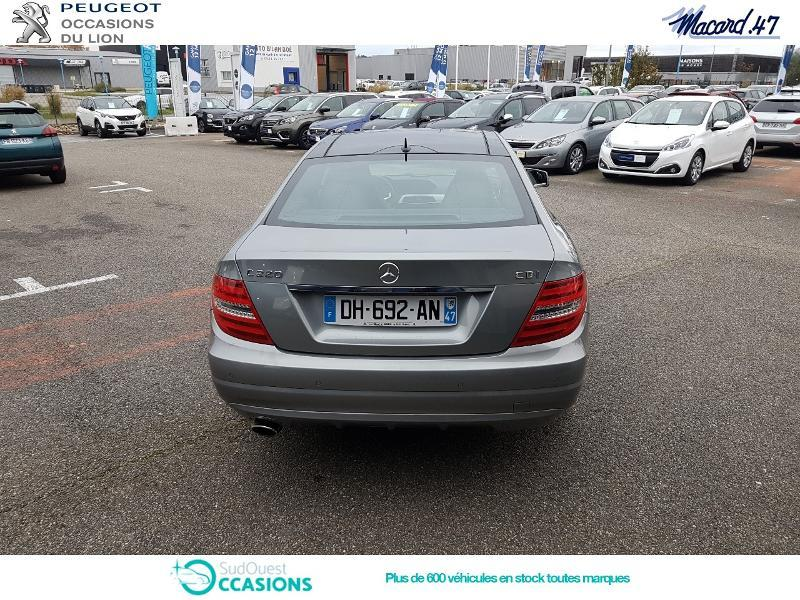 Photo 5 de l'offre de Mercedes-Benz Classe C Coupe 220 CDI Executive 7GTronic à 20 990 € chez SudOuest Occasions