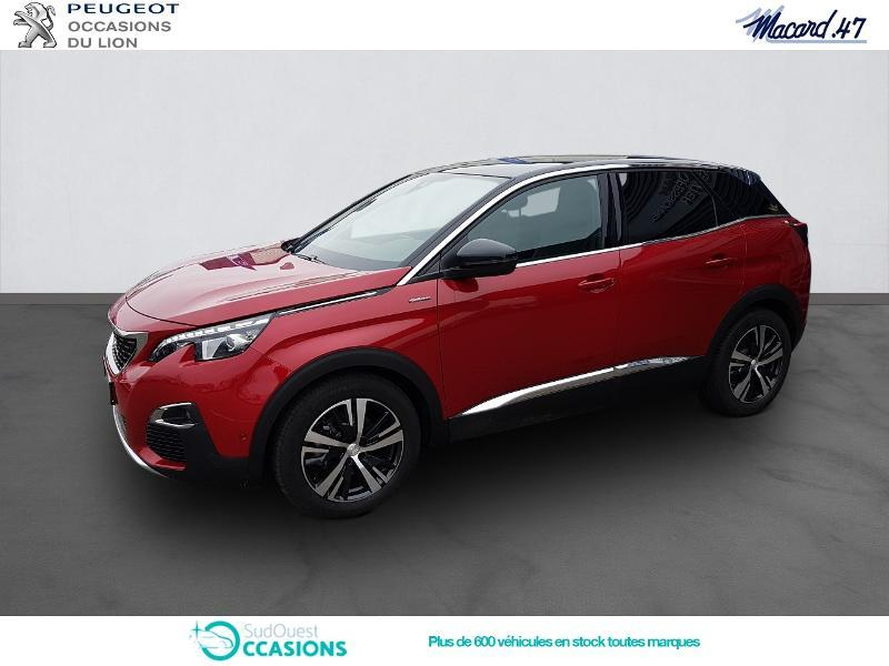 Photo 1 de l'offre de Peugeot 3008 1.5 BlueHDi 130ch E6.c GT Line S&S EAT8 à 32 990 € chez SudOuest Occasions