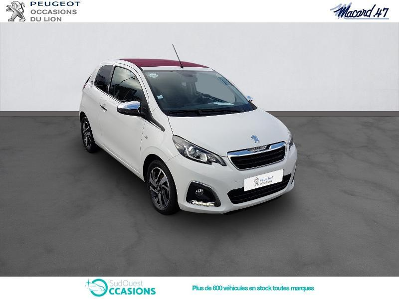 Photo 3 de l'offre de Peugeot 108 1.2 PureTech Allure Top 3p à 9 990 € chez SudOuest Occasions