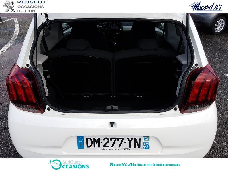 Photo 6 de l'offre de Peugeot 108 1.2 PureTech Allure Top 3p à 9 990 € chez SudOuest Occasions