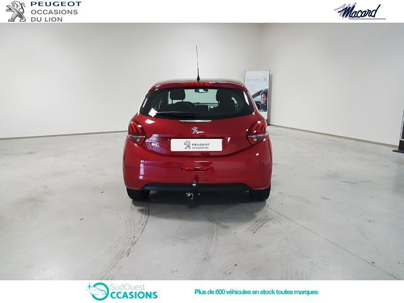 Photo 5 de l'offre de Peugeot 208 1.2 PureTech 110ch Allure S&S EAT6 5cv 5p à 15 490 € chez SudOuest Occasions