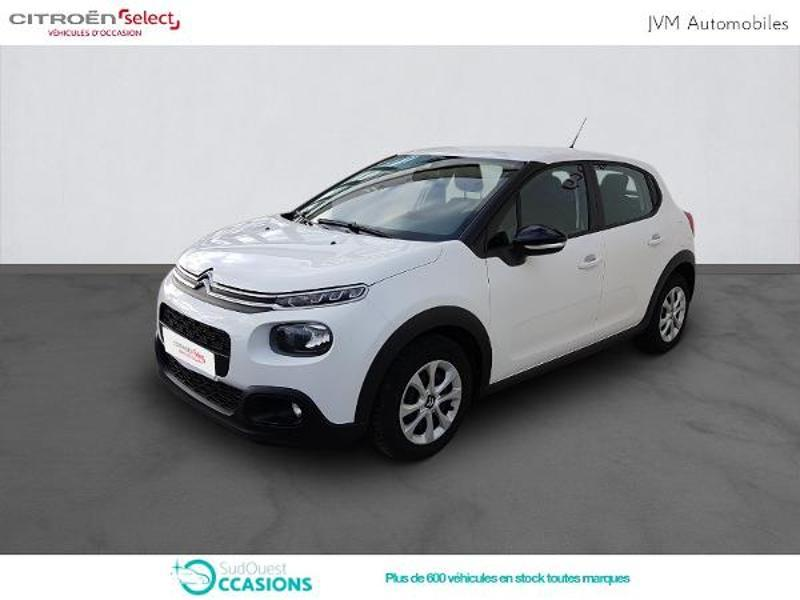Photo 1 de l'offre de Citroën C3 PureTech 110ch Feel S&S E6.d-TEMP à 14 790 € chez SudOuest Occasions
