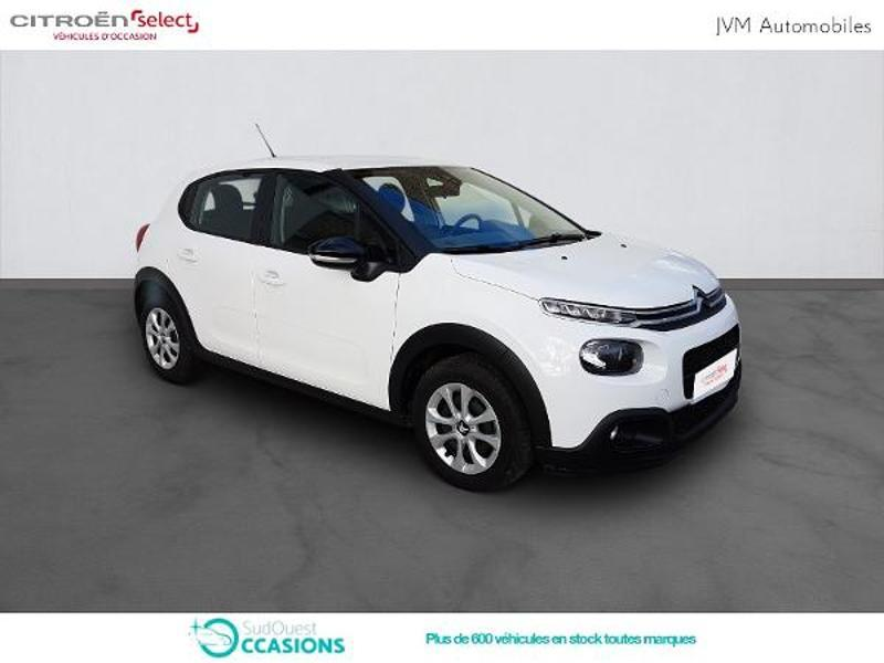 Photo 3 de l'offre de Citroën C3 PureTech 110ch Feel S&S E6.d-TEMP à 14 790 € chez SudOuest Occasions
