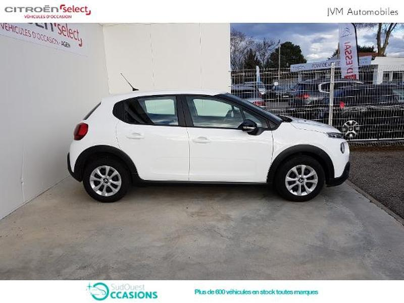 Photo 4 de l'offre de Citroën C3 PureTech 110ch Feel S&S E6.d-TEMP à 14 790 € chez SudOuest Occasions