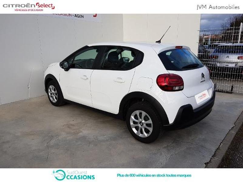 Photo 6 de l'offre de Citroën C3 PureTech 110ch Feel S&S E6.d-TEMP à 14 790 € chez SudOuest Occasions