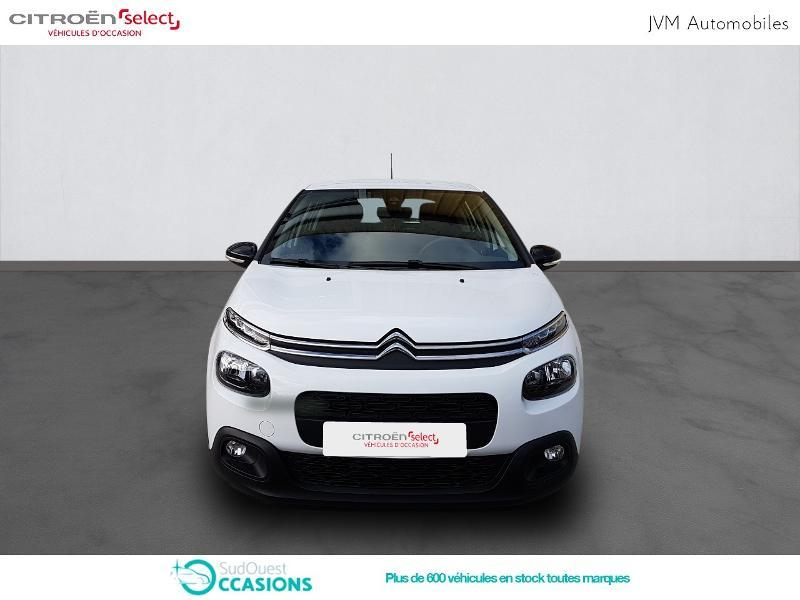 Photo 2 de l'offre de Citroën C3 PureTech 110ch Feel S&S E6.d-TEMP à 14 890 € chez SudOuest Occasions