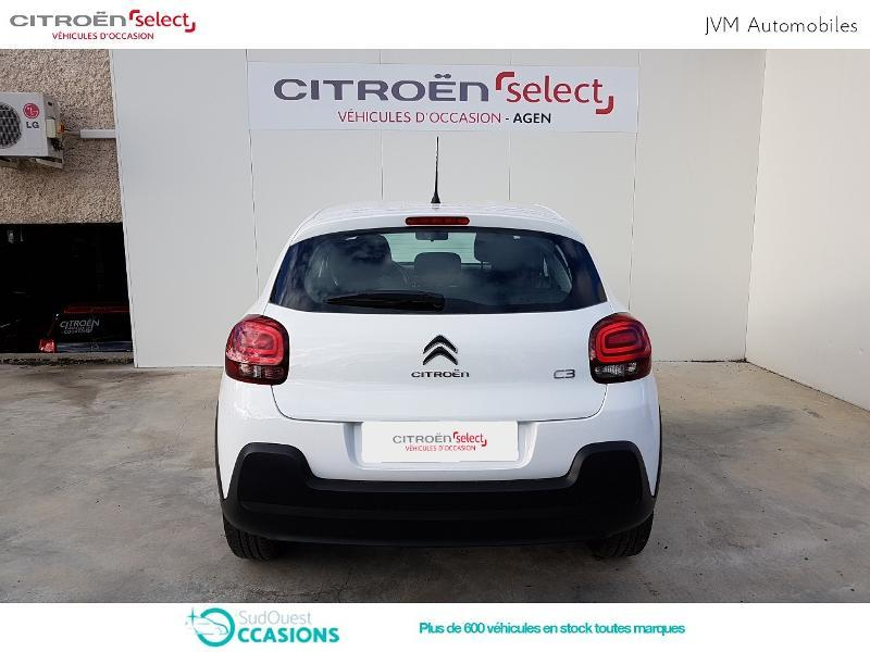 Photo 5 de l'offre de Citroën C3 PureTech 110ch Feel S&S E6.d-TEMP à 14 890 € chez SudOuest Occasions